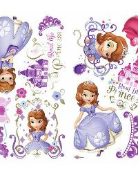 Sofia the First Peel and Stick Wall Decals by