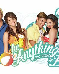 Teen Beach Movie Be Anything You Want To Be Peel and Stick Giant Wall Decals by