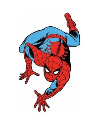 Marvel Classic Spiderman Peel and Stick Giant Wall Decals RMK2355GM by
