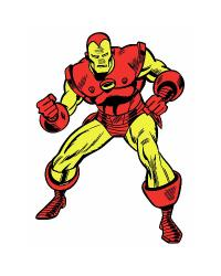 Marvel Classic Iron Man Peel and Stick Giant Wall Decals RMK2356GM by