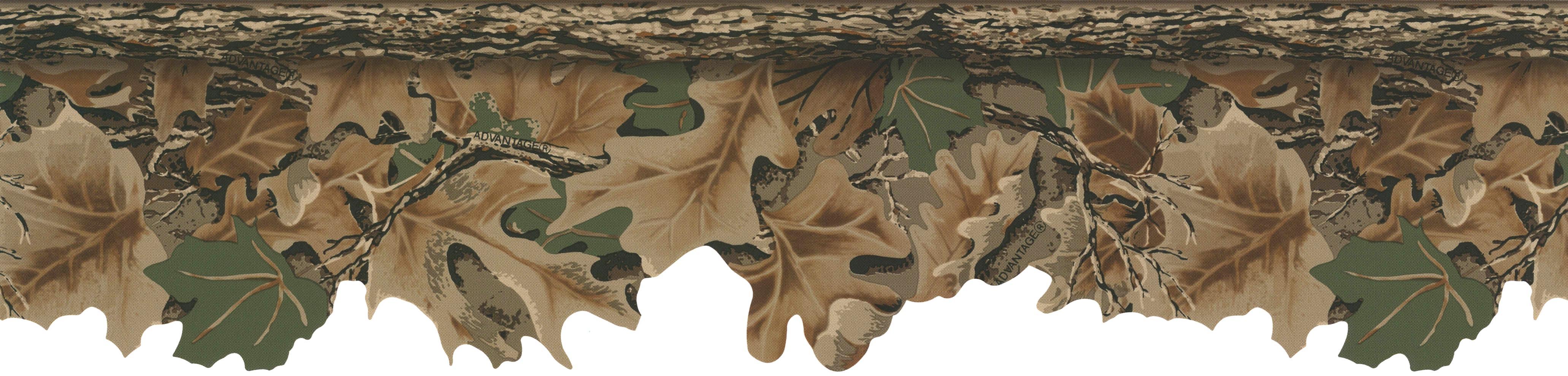 York Wallpaper Realtree Advantage Classics Camo Border