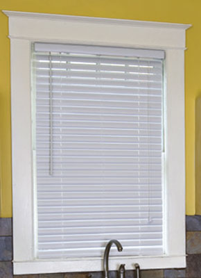 inch Designer Vinyl Blinds and Vinyl Window Blinds