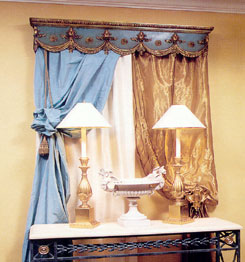 Cornice Boards - Window Cornices - Wood Cornices - Fabric Cornices - DIY Cornice Kits