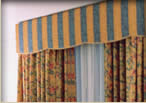 fabric cornices,custom cornices,custom fabric cornices