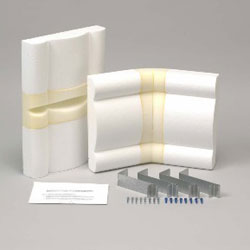 Bay Window - Corner Cornice Board Kit