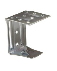 Center Support Bracket Unpainted Metal FCX 2in Faux Wood by