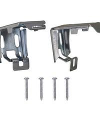 Install Brackets Set for MLX Cordless 1in Vinyl Mini Blinds by