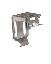 Center Support Bracket Unpainted MLX 1in Cordless Vinyl Blind by