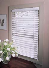 mini vinyl blinds
