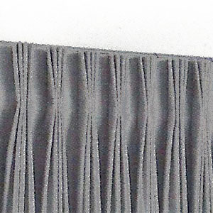 4 Finger Pinch Pleated Draperies