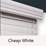 Cheap 2 inch faux blinds, Cheap faux wood blinds white