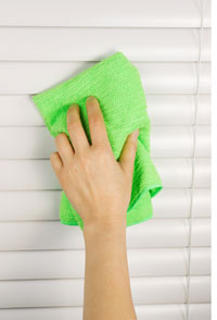 Cleaning Vinyl Blinds