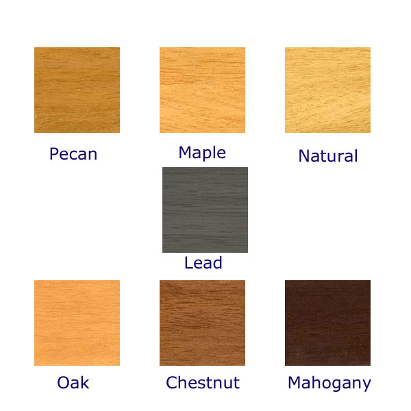 Faux wood blinds colors