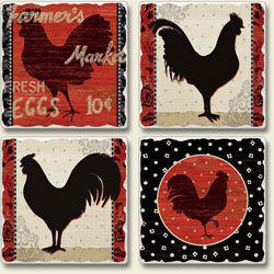 Coaster Sets - Drink Coasters - Round and Square Coasters