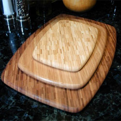 Bamboo and Glass Cutting Boards