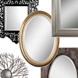 Wall Mirrors by Color