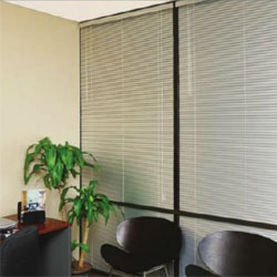 aluminum metal mini blinds