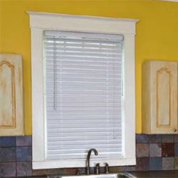 "2"" vinyl mini blinds"