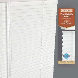 cordless aluminum metal mini blinds