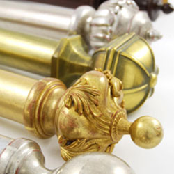DDecorative Curtain Rods & Finials