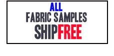 All fabric samples ship free