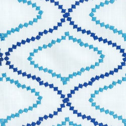 Crewel Fabric - Embroidered Fabric