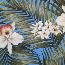 Hawaiian Fabric - Tropical Fabric - Hawaiian Print Fabric