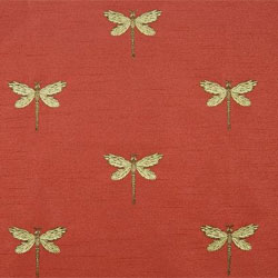 Nature Fabric - Insect Fabric - Butterfly Fabric - Leaves, Vines and Scroll Fabric