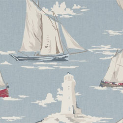 Nautical Fabrics - Lighthouse Fabrics - Nautical Prints - Nautical Upholstery Fabrics