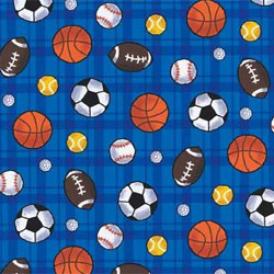 Sports Fabric - Baseball - College - Football - Golf - Hunting and Fishing - NASCAR
