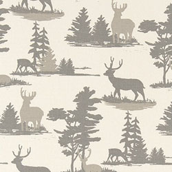 Lodge Fabric - Deer Fabric - Wildlife Fabric