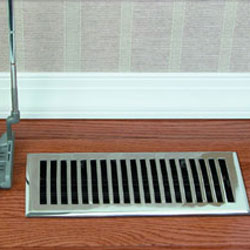 Floor Registers - Heat Registers - Air Vent Covers - Return Air Grilles