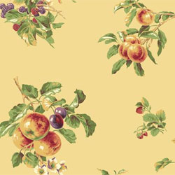 Fruit wallpaper for kitchen and home decorating.