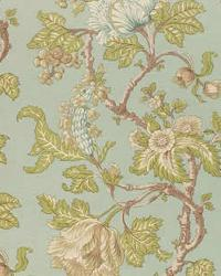 Vervain Fabrics Jacobean Lemon Lime Fabric