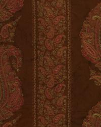 Brown Classic Paisley Fabric  Annabelle Tobacco