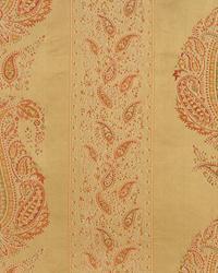 Gold Classic Paisley Fabric  Annabelle Humus