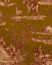 Cavalier Toile Red On Saddle by