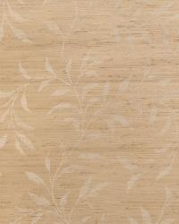 Viney Leaf Jute Almond On Flax by