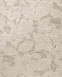 In Bloom Jute Taupe On Vanilla by