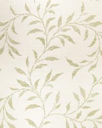 Viney Leaf Sisal Green On Oyster by
