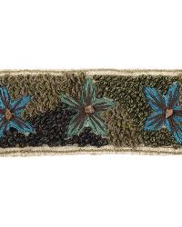 EMBROIDERED GARDEN LILY PAD by  Stroheim And Romann Trim