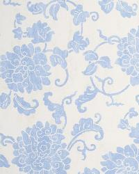 Blue Oriental Fabric  Mickayla Blue