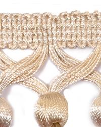White Beaded Trim  01742 Pearl