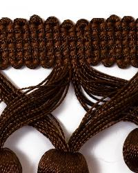 Brown Beaded Trim  01742 Chocolate