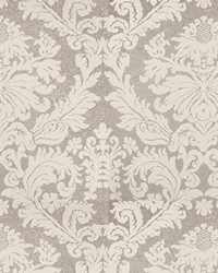 Laurel Damask Silver Ice by