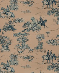 Elway Hall Toile Bd Blueberry by