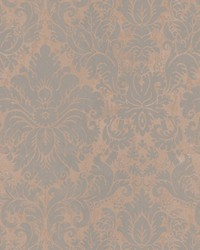 Bassanio Damask Faded Patina by