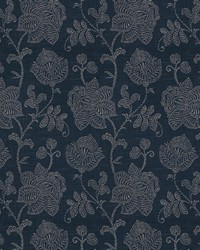 Charvin On Linen Indigo by