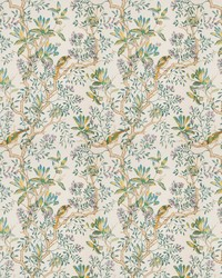 Buchoz Floral Teal by