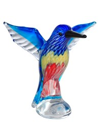 Hailey Handcrafted Art Glass Figurine by